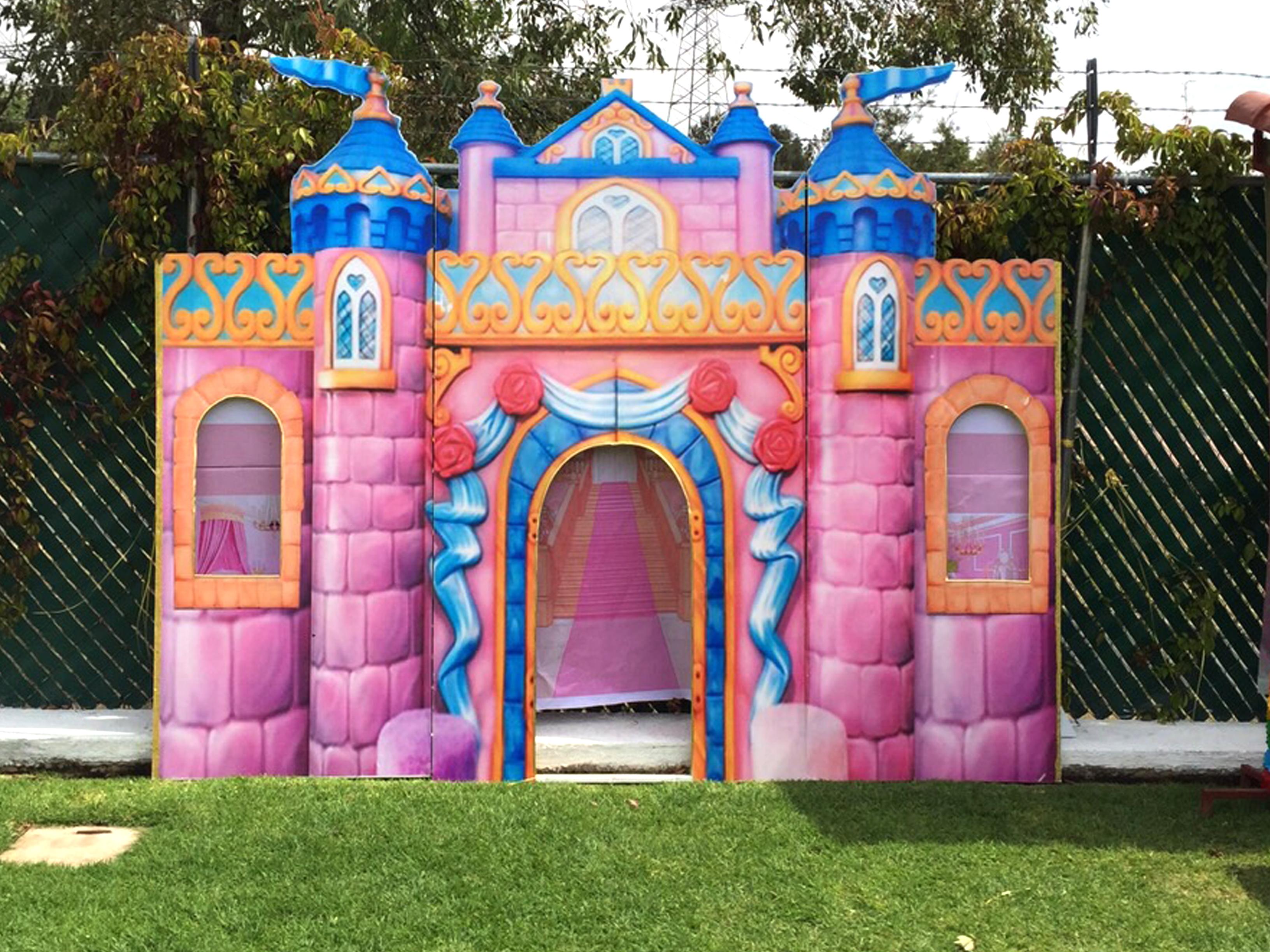 Decoraci n de princesas cazafiestas luz y sonido en - Castillos para ninos de infantil ...